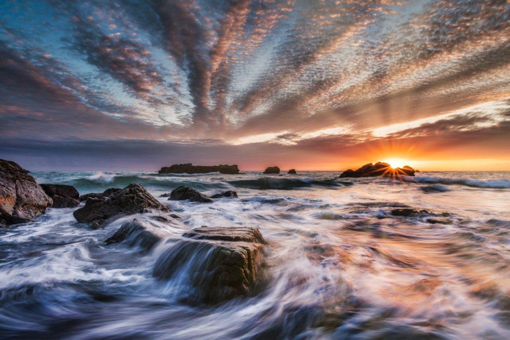 Last Light Ohlson Beach by Paul Kozal